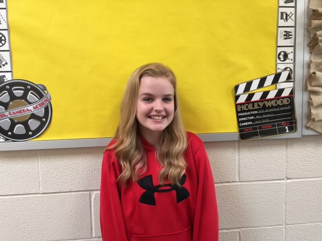 JAG Middle School Student Spotlight - Brooke White