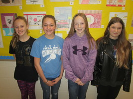 GMS February Students of the Month
