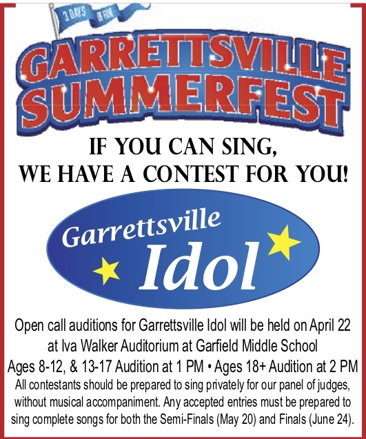 Garrettsville Idol Tryouts