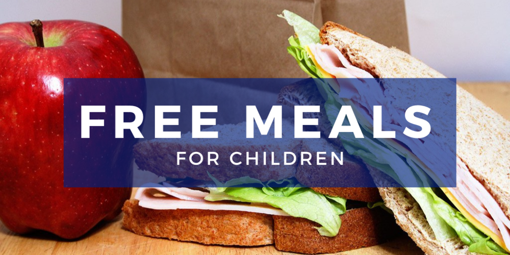 Sign up for FREE MEALS through December 2020