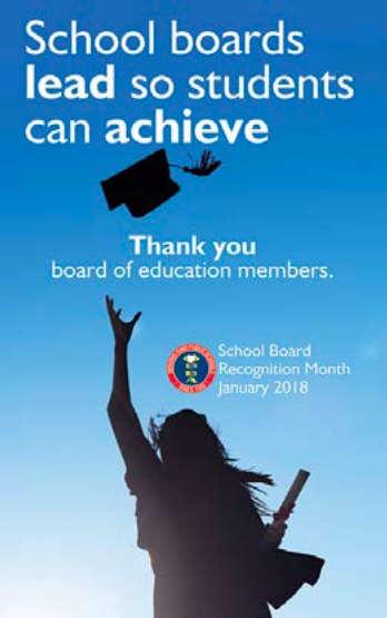 Thank you to an AWESOME School Board!