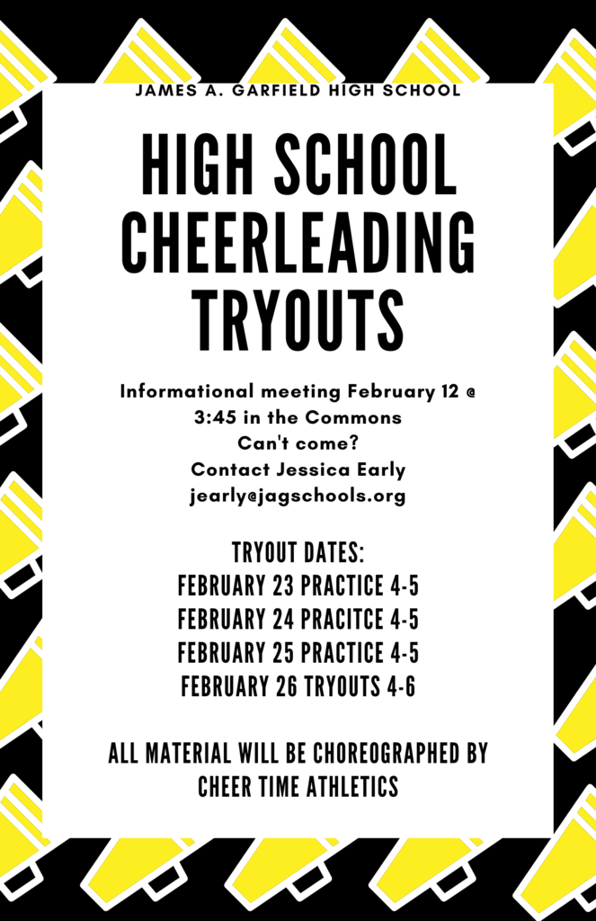 2021 Cheer Tryouts