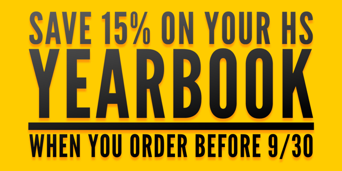 15% yearbook coupon