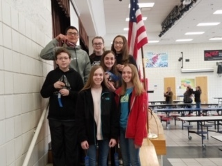8th grade Math Tournament team