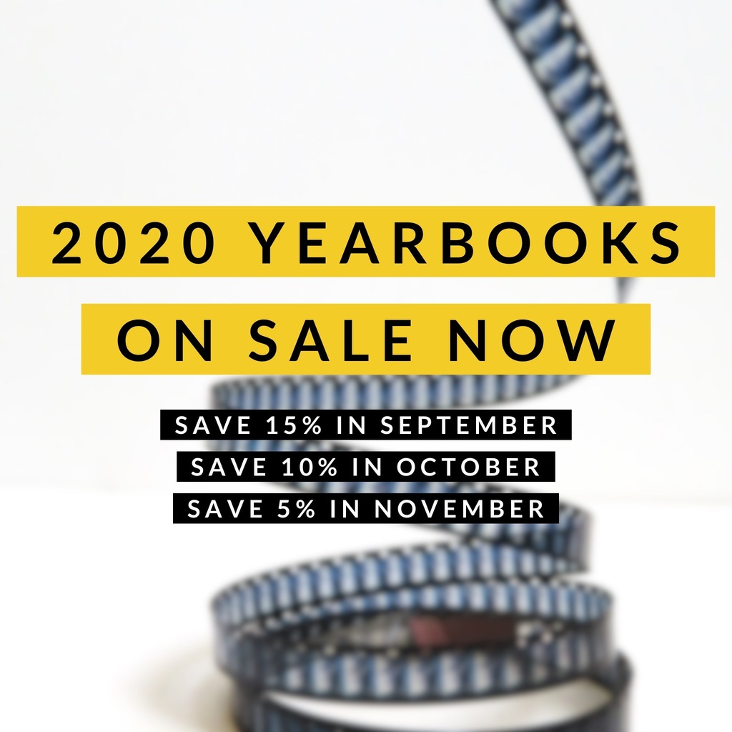 Purchase a 2020 GHS yearbook before September 30th to save 15%